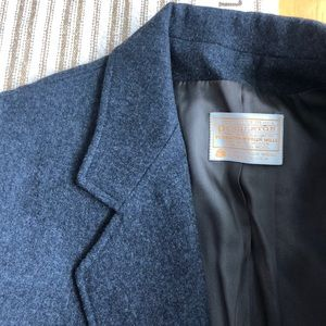 Pendleton vintage wool school boy blazer